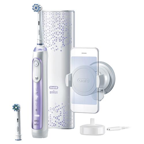 【長期保証付】ブラウン D7015266XCMOP(オーキッドパープル) 電動歯ブラシ