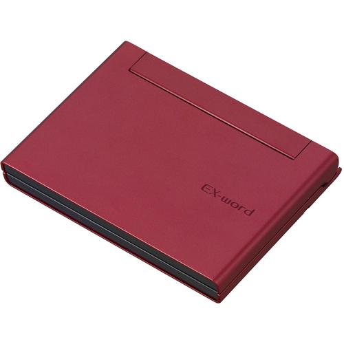 在庫あり 秀逸 14時までの注文で当日出荷可能 CASIO XD-C400RD レッド エクスワード 贈与 コンパクト 日本語モデル EX-word