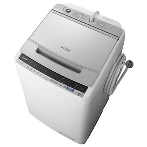 【在庫あり】14時までの注文で当日出荷可能! 【長期保証付】日立 BW-V90E-S(シルバー) ビートウォッシュ 全自動洗濯機 上開き 洗濯9kg