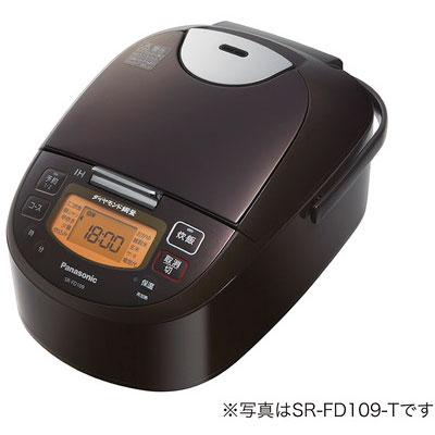 パナソニック SR-FD189-T(ブラウン) IHジャー炊飯器 1升