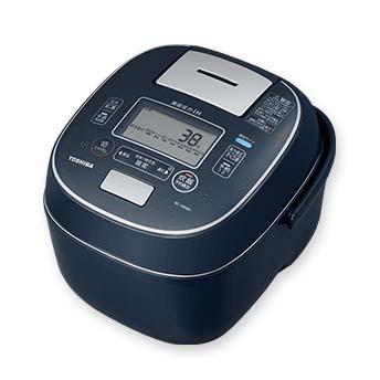 【長期保証付】東芝 RC-18VXN-L(インディゴブルー) 合わせ炊き 真空圧力IHジャー炊飯器 1升
