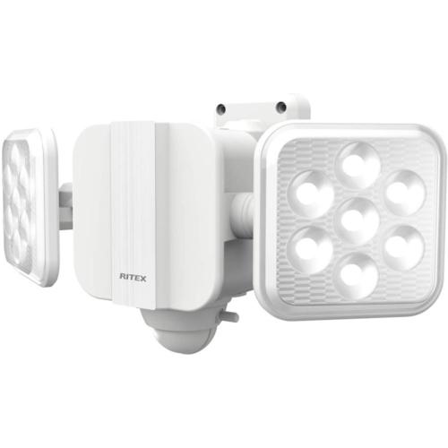 在庫あり ☆送料無料☆ 当日発送可能 14時までの注文で当日出荷可能 ムサシ 倉 5W×2灯 フリーアーム式LED乾電池センサーライト LED-270