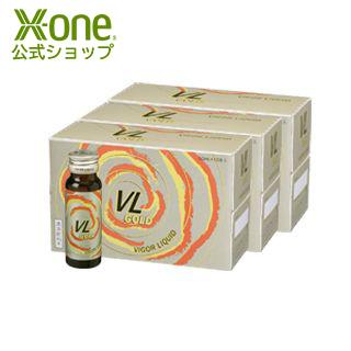 エックスワン X-one VLゴールド 50mL 30本入 栄養ドリンク 18種類 動植物エキス 高麗人参 養身 食物繊維 疲労回復 健康 美容 正規品 ギフト 妻 彼女 女性