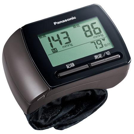 在庫あり 14時までの注文で当日出荷可能 パナソニック 購買 中古 ブラウン 手くび血圧計 EW-BW15-T