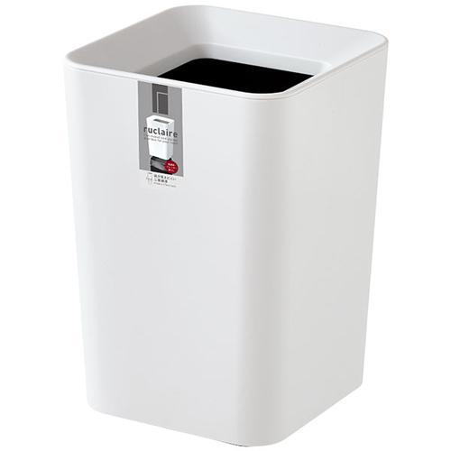 大幅値下げランキング アスベル ルクレール ゴミ箱 CVミニ 2L 角型 ホワイト 与え