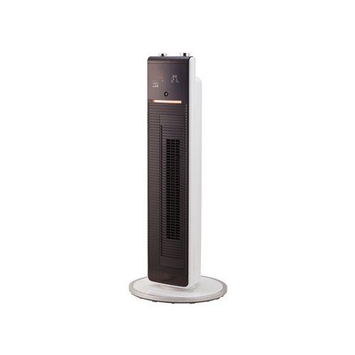 コイズミ KHF-1295-W(ホワイト) ホット&クール DCプレミアムタワーファン リモコン付
