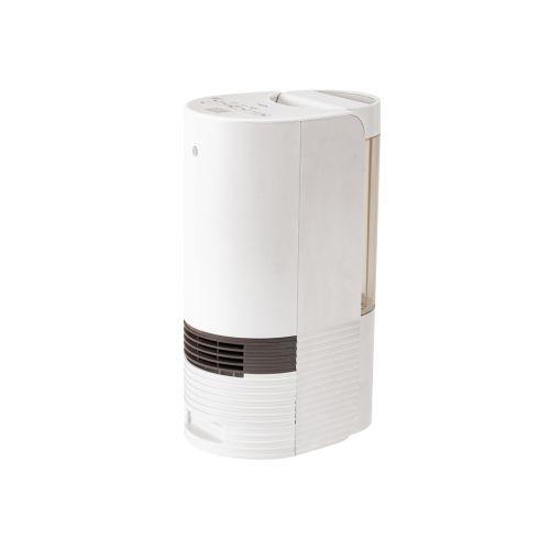 コイズミ KPH-1291-W(ホワイト) 人感センサー付加湿セラミックヒーター 1100W 600mL/h