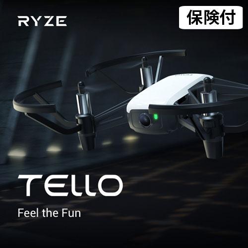 ドローン テロー Ryze Tech Tello 小型 カメラ付き スマホ コントロール【送料無料(一部地域除く)】