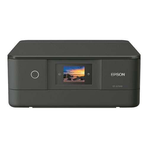 エプソン インクジェットプリンター カラリオ EP-879AB ブラック 対応インク(クマノミ) 【代引不可】【送料無料(一部地域除く)】
