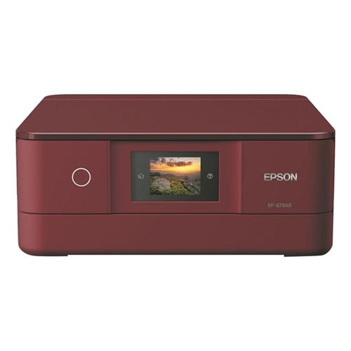 エプソン インクジェットプリンター カラリオ EP-879AR レッド 対応インク(クマノミ) 【代引不可】【送料無料(一部地域除く)】