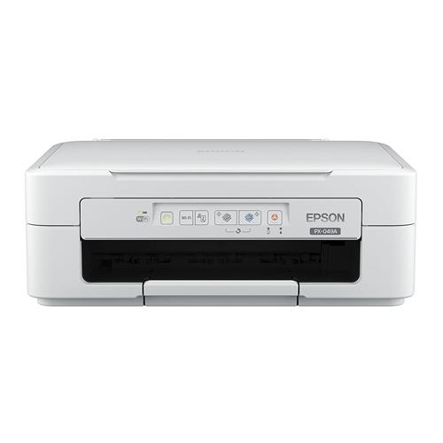 エプソン インクジェットプリンター カラリオ PX-049A ホワイト 対応インク(リコーダー) 【代引不可】【送料無料(一部地域除く)】