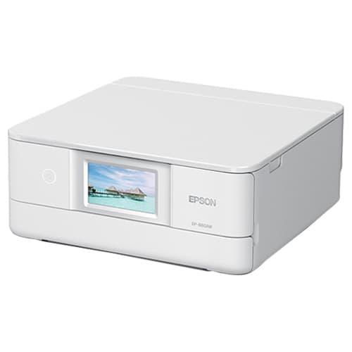 エプソン インクジェットプリンター カラリオ EP-880AW ホワイト 【送料無料(一部地域除く)】