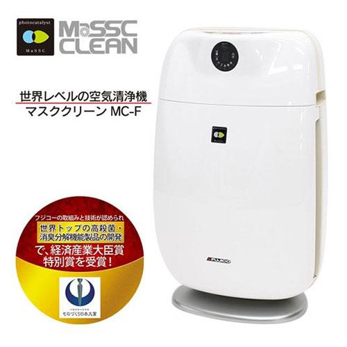 【代引不可】MC-F マスククリーン ホワイト×ベージュ 空気清浄機 季節家電 家電 電化 【送料無料(一部地域除く)】
