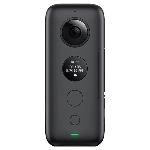 アクションカメラ Insta360 ONE X ブラック CINONEX/A 【代引不可】【送料無料(一部地域除く)】