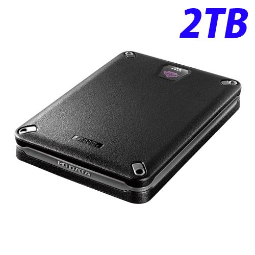 【取寄品】アイ・オー・データ USB 3.0/2.0対応 耐衝撃ポータブルハードディスク 2TB HDPD-SUTB2 【送料無料(一部地域除く)】