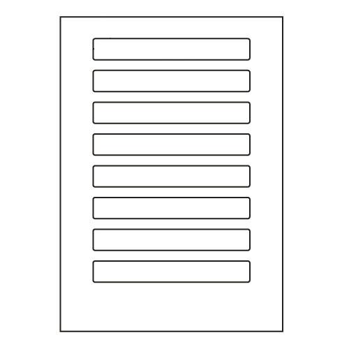 ラベルシール 東洋印刷 LDW8UBF 再剥離タイプ A4 500シート【代引不可】【送料無料(一部地域除く)】