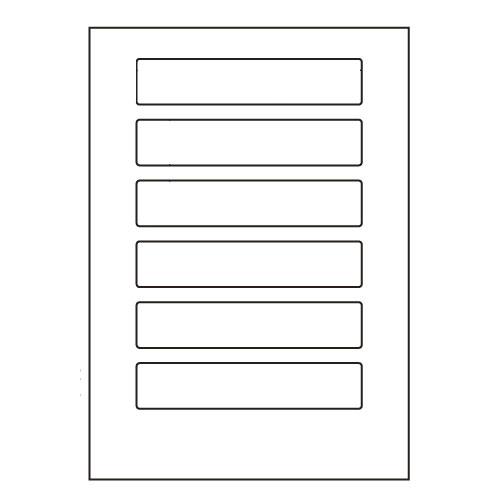 ラベルシール LDW6PB 汎用タイプ A4 500シート【代引不可】【送料無料(一部地域除く)】