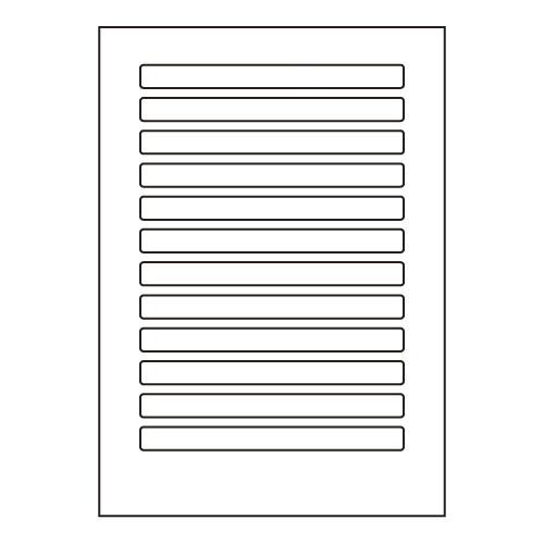 ラベルシール 東洋印刷 LDW12E 汎用タイプ A4 500シート【代引不可】【送料無料(一部地域除く)】