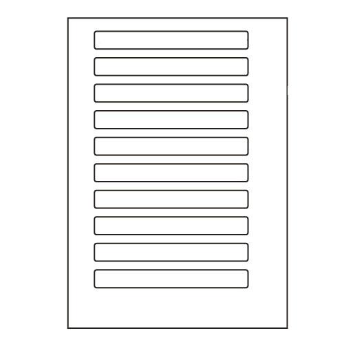 ラベルシール 東洋印刷 LDW10B 汎用タイプ A4 500シート【代引不可】【送料無料(一部地域除く)】