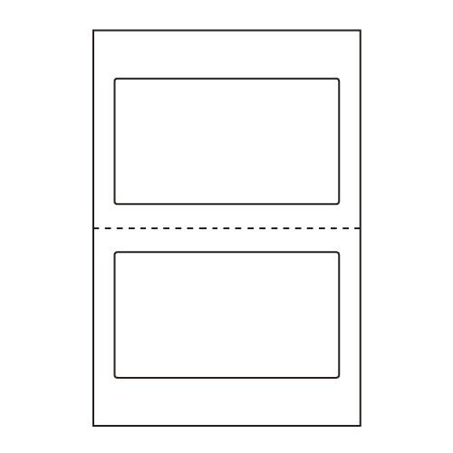 ラベルシール 東洋印刷 CLH-27 医療機関向けラベル 汎用 ハガキ 1000シート【代引不可】【送料無料(一部地域除く)】