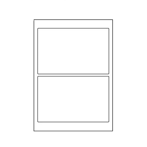 ラベルシール SCL-27 光沢タイプ カラーレーザー用 A4 400シート【代引不可】【送料無料(一部地域除く)】