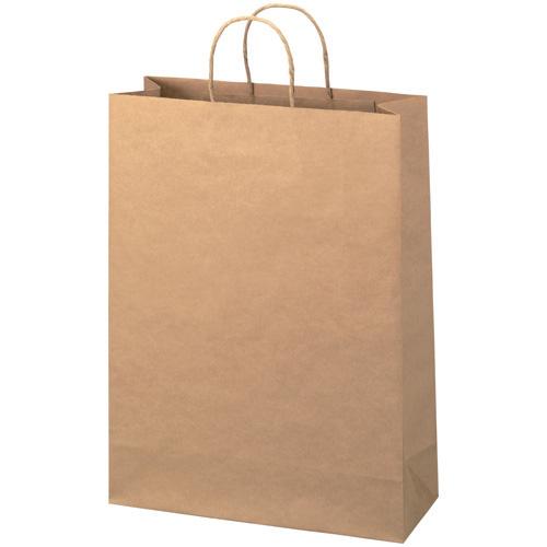 【取寄品】スマートバリュー 手提袋 丸紐 茶 特大 300枚 B290J-B6【送料無料(一部地域除く)】