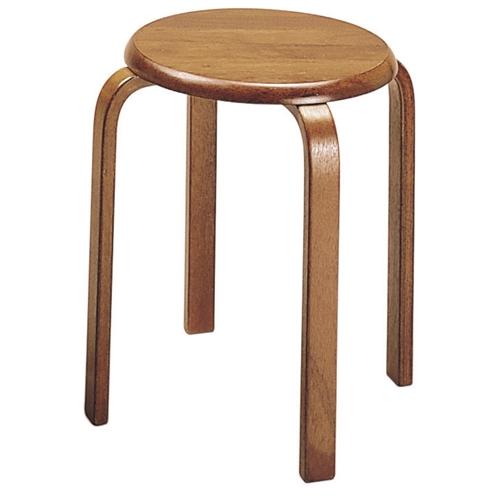 木製スツール ブラウン 6脚セット【代引不可】 木製スツール 6脚セット【送料無料(一部地域除く)】, 定番 :695e704b --- reisotel.com