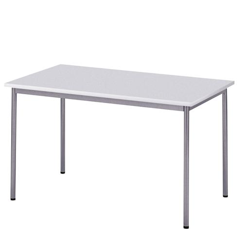 ワークテーブル ホワイト W1200×700mm 【代引不可】【送料無料(一部地域除く)】