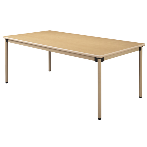 【お買得】ユニバーサルテーブル 180×90cm メープル 【代引不可】