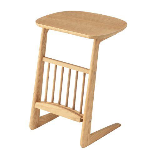 ヘンリー サイドテーブル HOT-535NA インテリア 家具 机 リビング 【送料無料(一部地域除く)】【代引不可】