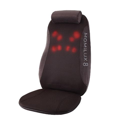 MOMILUX8 シートマッサージャー ブラウン DMS-1501BW 家電 電化製品 椅子 【代引不可】【送料無料(一部地域除く)】