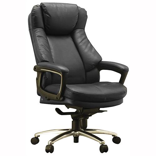 ワーキングチェア スリンキー ECOレザー ブラック 108698 インテリア 家具 オフィス家具 【代引不可】【送料無料(一部地域除く)】
