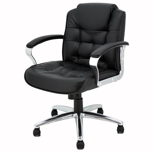 SKN マネージメントチェア ミドルバック 184346 インテリア 家具 オフィス家具 【代引不可】【送料無料(一部地域除く)】