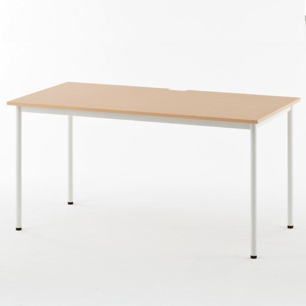RFヤマカワ シンプルテーブル ナチュラル W1400×D700 SHST-1470NA 家具 オフィス家具 テーブル インテリア シンプル【代引不可】【送料無料(一部地域除く)】