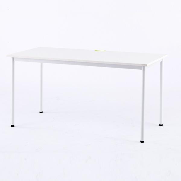 RFヤマカワ シンプルテーブル ホワイト W1400×D700 Z-SHST-1470WHW 家具 オフィス家具 テーブル インテリア シンプル【代引不可】【送料無料(一部地域除く)】