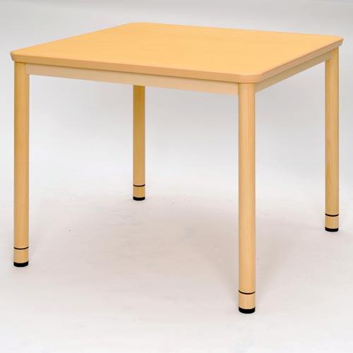 RFKTB-0990NA 介護用テーブルW900×D900 ナチュラル 【代引不可】【送料無料(一部地域除く)】
