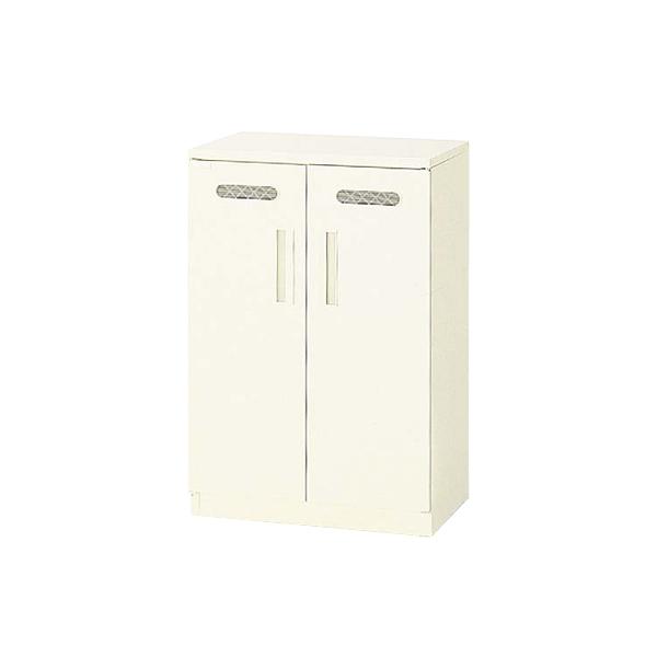 ライオン事務器 キッチンケース W600×D400×H880mm アイボリー OK-23N 582-15 【代引不可】【送料無料(一部地域除く)】
