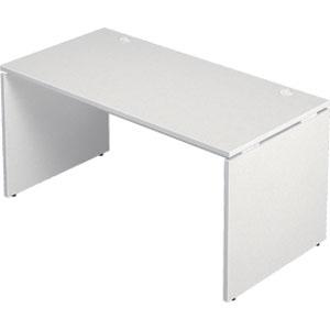 Garage 木製パソコンデスク AFデスク 幅140cm 奥行き70cm AF-147H 白 ホワイト 【代引不可】【送料無料(一部地域除く)】