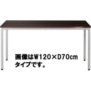 Garage パソコンデスク 幅100cm 奥行き60cm CL-106H 濃茶 ダークウォールナット 【代引不可】【送料無料(一部地域除く)】