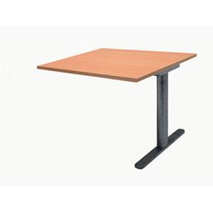 Garage ミーティングテーブル fantoni 連結用 GT-129H-Z 幅120cm 奥行き90cm 木目 【代引不可】【送料無料(一部地域除く)】