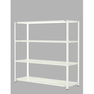 Garage PLUS 物品棚(軽量棚) KR-1186-4 LG 【代引不可】【送料無料(一部地域除く)】