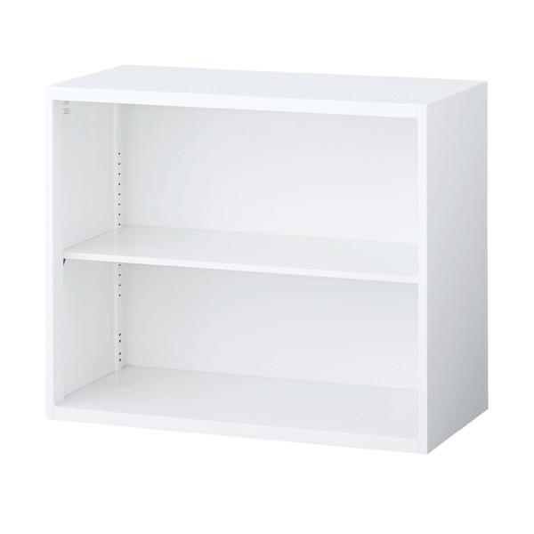 生興 クウォール システム収納庫 オープン書庫 W900×D400×H750 RW4-07K【代引不可】【送料無料(一部地域除く)】