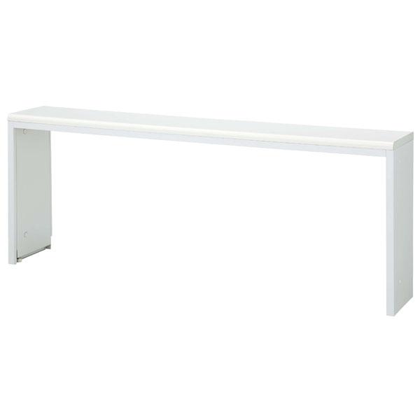 生興 NSカウンター インフォメーションテーブル W1800×D302×H700 NST-18WW ホワイト【代引不可】【送料無料(一部地域除く)】