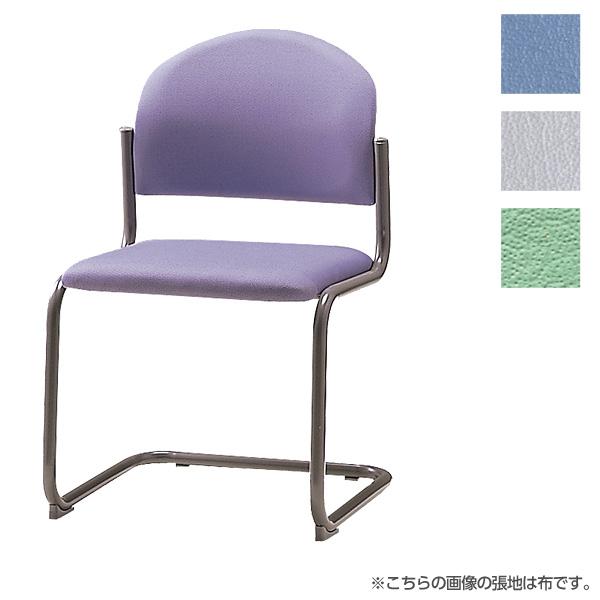 サンケイ ミーティングチェア 会議椅子 キャンチレバー脚 粉体塗装 肘なし ビニールレザー張り CM214-MX【代引不可】【送料無料(一部地域除く)】
