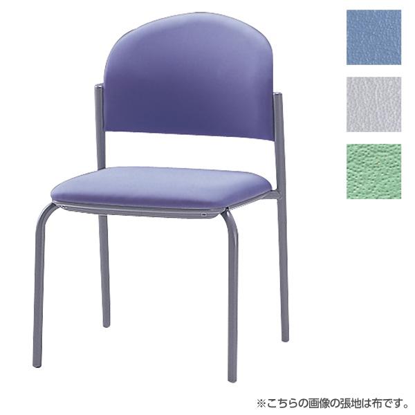 サンケイ ミーティングチェア 会議椅子 4本脚 粉体塗装 肘なし ビニールレザー張り CM210-MX【代引不可】【送料無料(一部地域除く)】