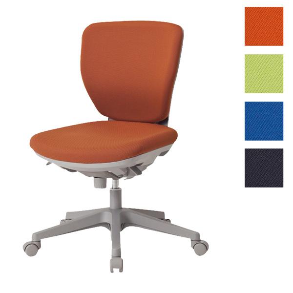 サンケイ オフィスチェア 回転椅子 ガススプリング上下調節 キャスター付 ローバック 肘なし 布張り CO250-MYB【代引不可】【送料無料(一部地域除く)】