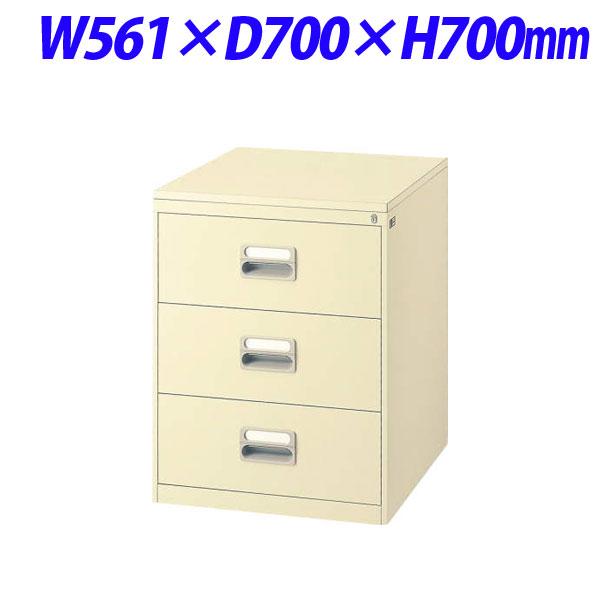 ライオン事務器 カードキャビネット W561×D700×H700mm アイボリー A5-2377NT 452-04【代引不可】【送料無料(一部地域除く)】