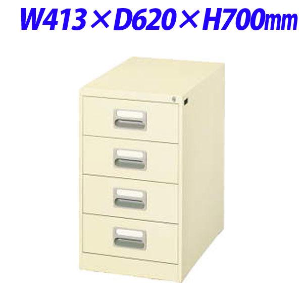 ライオン事務器 カードキャビネット W413×D620×H700mm アイボリー A6-2476N 452-37【代引不可】【送料無料(一部地域除く)】