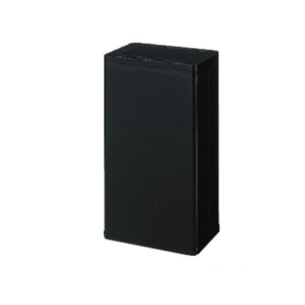 ライオン事務器 ダストボックス W329×D240×H600mm ブラック DB-20N 585-66【代引不可】【送料無料(一部地域除く)】