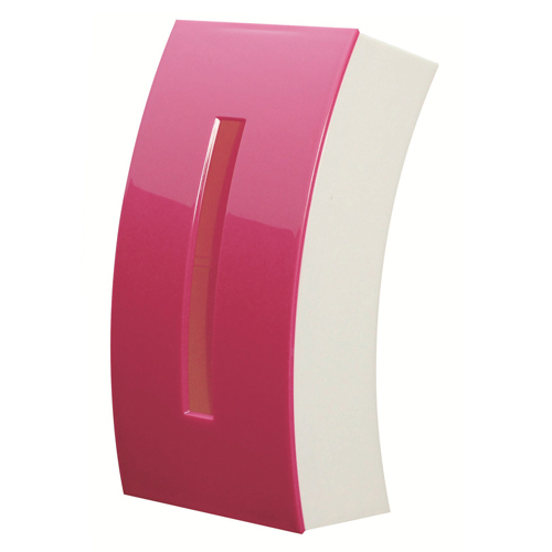 プラスチック製 ボックスティッシュ用ケース ティッシュ チリ紙 ちりかみ 男女兼用 ちりがみ 日用品 ティッシュケース ボックス用 ピンク ティッシュケースBow 雑貨 生活雑貨 全品送料無料